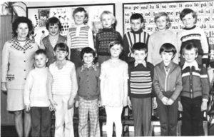 Školní rok 1977-78